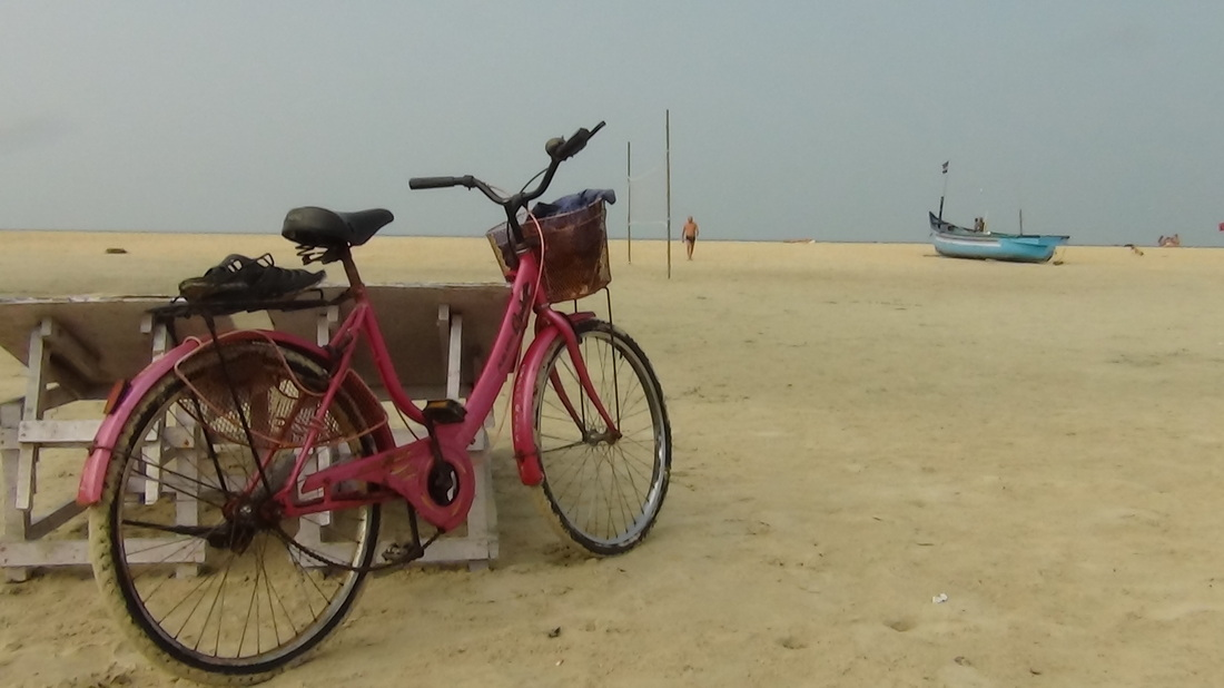 Zalor beach - Cycling 'adventure' !
